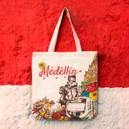 Bolsa Ecológica Terramarte / Diseño Medellín / En Algodón