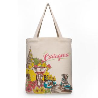 Bolsa Ecológica Terramarte / Diseño Cartagena / En Algodón