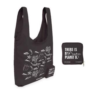 Bolsa Reutilizable Terramarte En Poliéster / Diseño Peces